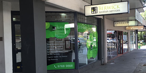 Welcome to Berwick  Taxation Services
